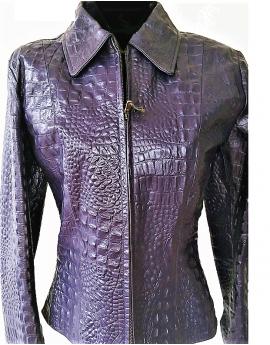 Ženska usnjena jakna NESS